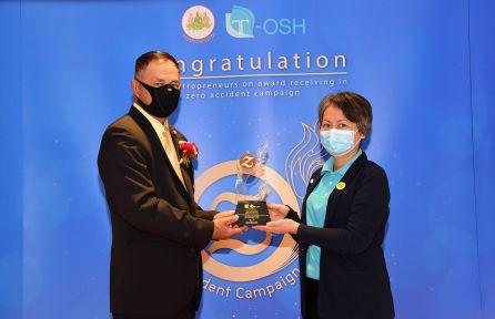 Award Ceremony for Zero Accident Campaign 2020