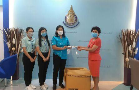 ศูนย์ส่งเสริมความปลอดภัยฯ สงขลา จัดทำหน้ากาก Face shield มอบให้โรงพยาบาลในจังหวัดสงขลา