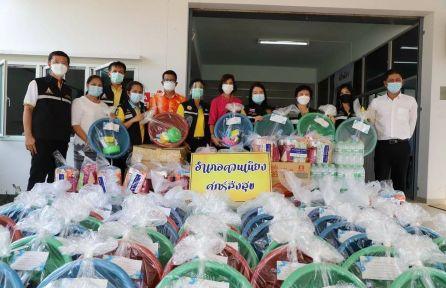 ศูนย์ส่งเสริมความปลอดภัยฯ ภาคใต้ ร่วมกิจกรรมช่วยเหลือผู้ได้รับผลกระทบจากโรคติดเชื้อไวรัสโควิด-19